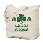Irish at Heart St Patrick's Tote Bag