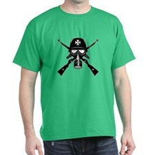 German Gas Mask T-Shirt