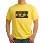 Persian Gulf Veteran Yellow T-Shirt