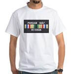 Persian Gulf Veteran White T-Shirt