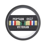 Persian Gulf Veteran Wall Clock