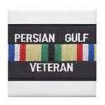 Persian Gulf Veteran Tile Coaster