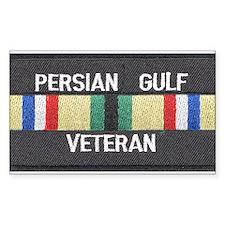 Persian Gulf Veteran Rectangle Decal