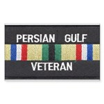Persian Gulf Veteran Rectangle Sticker