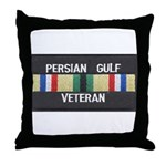 Persian Gulf Veteran Throw Pillow
