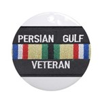 Persian Gulf Veteran Ornament (Round)