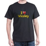 I Love Wesley (L) T-Shirt