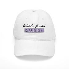 World's Greatest Nanni Baseball Cap