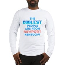 Coolest: Newport, KY Long Sleeve T-Shirt