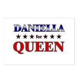 DANIELLA for queen Postcards (Package of 8)