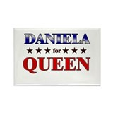 DANIELA for queen Rectangle Magnet
