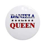 DANIELA for queen Ornament (Round)