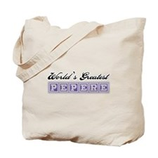World's Greatest Pepere Tote Bag