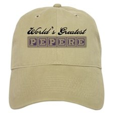 World's Greatest Pepere Baseball Cap