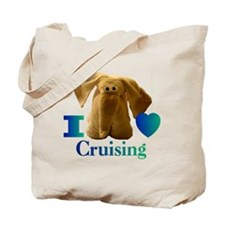 I Heart ( Love ) Cruising  Tote Bag