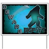 Cryptozoology Yard Sign