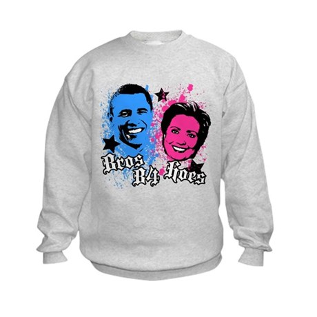 Bros Before Hoes Kids Sweatshirt