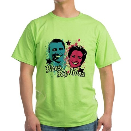 Bros Before Hoes Green T-Shirt