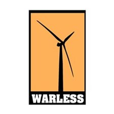 WARLESS energy! Rectangle Decal