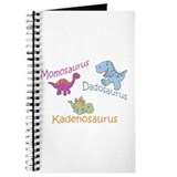 Mom, Dad & Kadenosaurus Journal