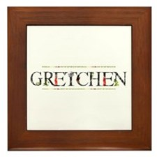 Gretchen Framed Tile