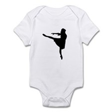 Ballet Girl Infant Bodysuit