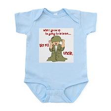 Brave Like My Uncle 1 Infant Bodysuit