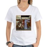 AKSC - Fairy Queen's Palace Women's V-Neck T-Shirt