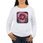Macbeth Daylily Women's Long Sleeve T-Shirt
