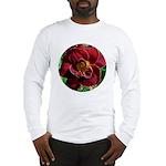 Night Embers Daylily Long Sleeve T-Shirt