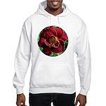 Night Embers Daylily Hooded Sweatshirt