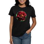 Night Embers Daylily Women's Dark T-Shirt