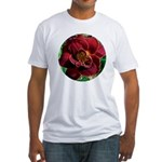 Night Embers Daylily Fitted T-Shirt
