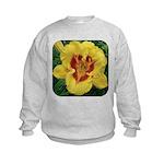 Fooled Me Daylily Kids Sweatshirt