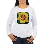 Fooled Me Daylily Women's Long Sleeve T-Shirt