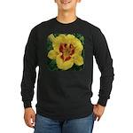 Fooled Me Daylily Long Sleeve Dark T-Shirt