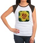 Fooled Me Daylily Women's Cap Sleeve T-Shirt