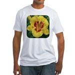 Fooled Me Daylily Fitted T-Shirt