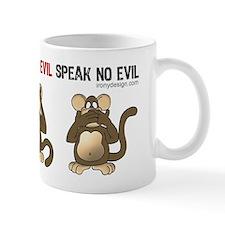 Hear no evil, see no evil.. Small Mugs