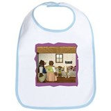 Goldilocks & The 3 Bears Bib