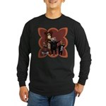 Hickory, Dickory, Dock Long Sleeve Dark T-Shirt