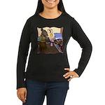 HDD Safe At Last! Women's Long Sleeve Dark T-Shirt