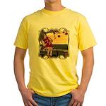 Little Miss Muffet Yellow T-Shirt