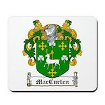 MacCurten Family Crest Mousepad