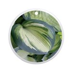 Eskimo Pie Hosta Ornament (Round)