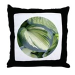 Eskimo Pie Hosta Throw Pillow
