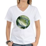 Eskimo Pie Hosta Women's V-Neck T-Shirt