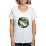Eskimo Pie Hosta Women's V-Neck T-Shirt