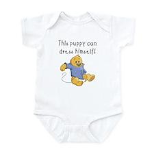 Dress Myself Puppy Infant Bodysuit