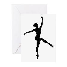 Ballerina Greeting Cards (Pk of 10)